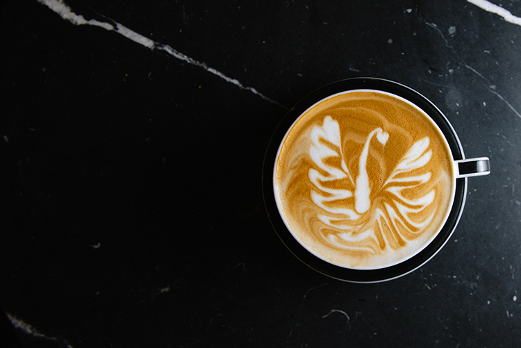 Swan Latte Art At 24 Ninth Ave