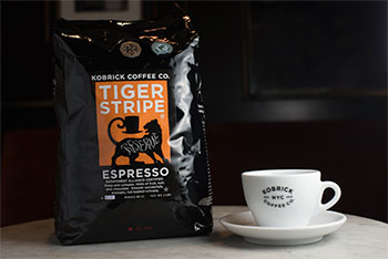 Tiger Stripe Espresso with Mug